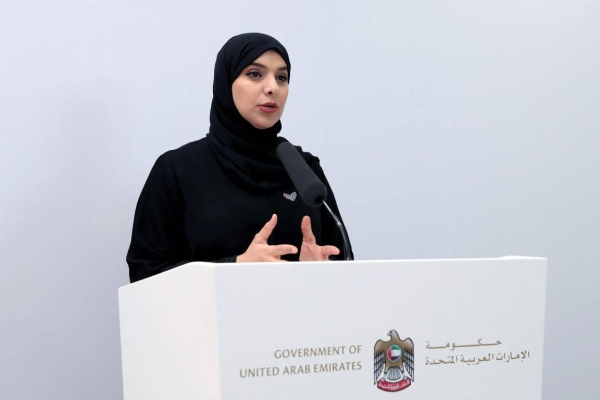 Dr. Amna Al-Dahhak Al-Shamsi, the official spokesperson for the UAE Government, announced that a total of 344 new coronavirus cases were recorded on Monday, bringing the total number of confirmed infections in the country to 55,198. — WAM photo
