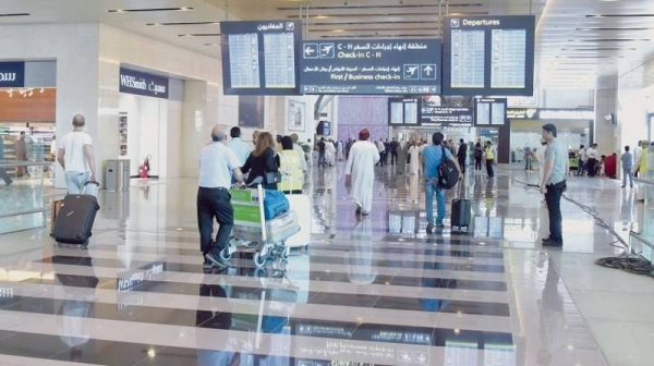 An inside view of Muscat airport. — File photo