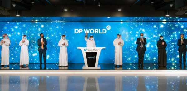Sultan Ahmed Bin Sulayem, group chairman and CEO of DP World, rang the market-opening bell at Nasdaq Dubai Wednesday to celebrate the listing of a $1.5 billion perpetual Sukuk.