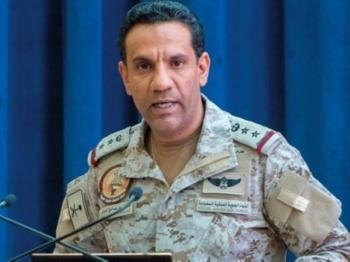 Spokesman of the Arab Coalition Col. Turki Al-Maliki
