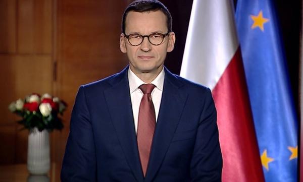 Poland premier Mateusz Morawiecki