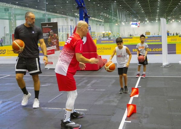 Fadi El Khatib, one of the biggest stars of Asian basketball, lauded Dubai Sports Council (DSC) for reopening Dubai's sports sector and allowing sports enthusiasts of all age and ability to get back to practicing and playing sports in a top-class, air-conditioned facility.