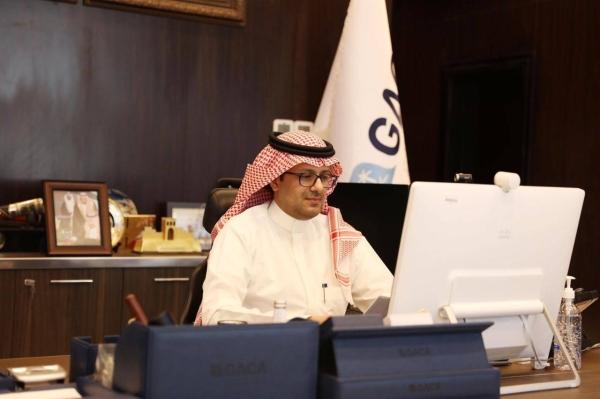 GACA chief Abdulhadi Bin Ahmed Al-Mansouri chairs the virtual seminar titled