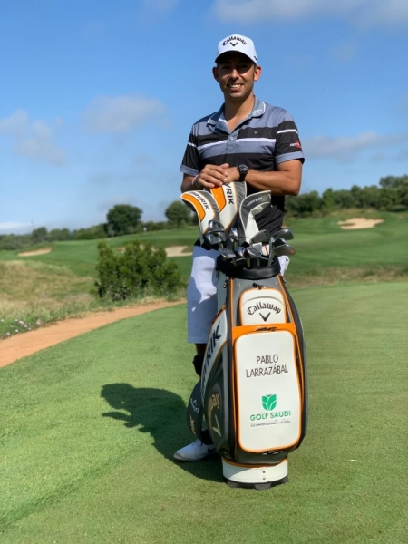 Golf Saudi has confirmed that Pablo Larrazábal is the latest professional player to join their ranks as an international golfing ambassador.