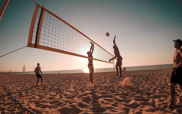 FootVolley is one of the most popular beach sports in the world.