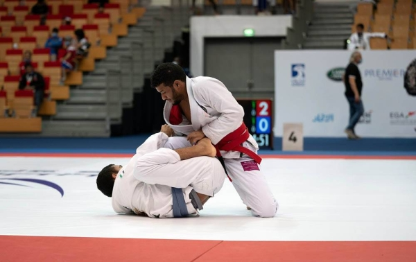Al Ain jiu-jitsu club bagged the Vice President's Cup after three rounds of thrilling action.