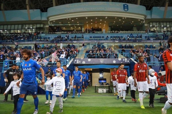 SPL returns with 64 games being played in just 36 days, with the first round of fixtures including the highly anticipated Riyadh derby between Al Nasr and Al Hilal on Wednesday, Aug. 5. — (SPL photo)