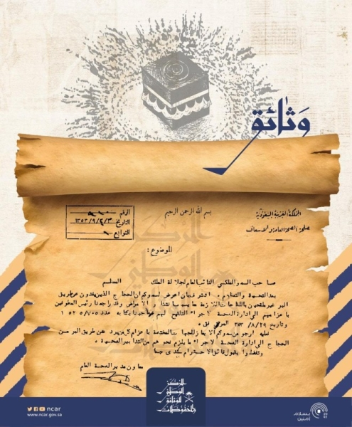Historical Hajj documents released