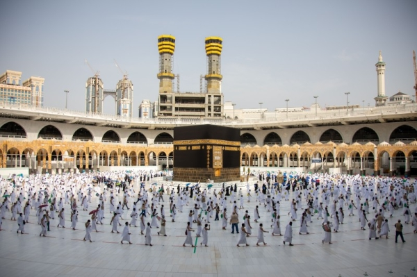 Pilgrims proceeded to Makkah to perform Tawaf Al-Ifada. — Courtesy Photo
