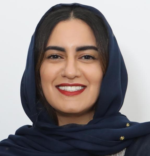 Saudi artist, Alaa Tarabzouni.
