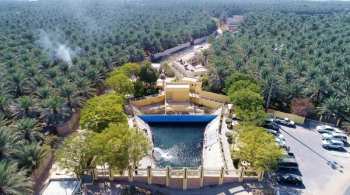 Al-Ahsa city in eastern Saudi Arabia, is known for its spectacular green scenery listed in UNESCO. The city also has one of the largest oases worldwide and historical sites that go back to the Stone Age. — SPA photo