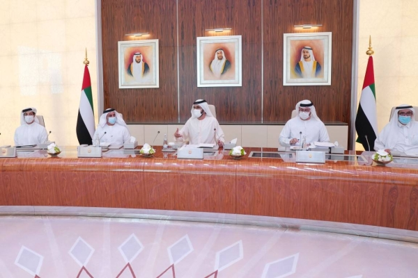 The newly reconstituted Cabinet of the United Arab Emirates held an in-person meeting on Monday for the first time after holding a series of meetings virtually last month over coronavirus fears. — WAM photos
