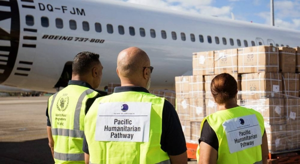 The UN is delivering vital medical supplies, to support COVID-19 response efforts in the Pacific. — courtesy WFP/Allan Stephen