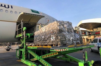The King Salman Humanitarian Aid and Relief Centre (KSrelief) planes carrying more than 120 tons of medicines, devices, solutions, medical and emergency supplies, tents, shelter kits and food items to deliver to affected people in Beirut.