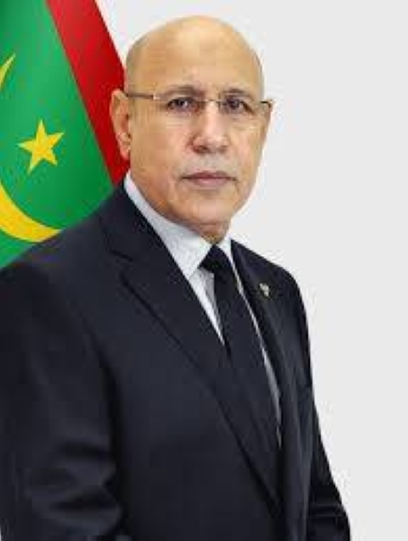 Mauritania President Mohamed Ould Cheikh El Ghazouani