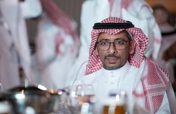 Saudi Arabia's Minister of Industry and Mineral Resources Bandar Bin Ibrahim Al-Khorayef