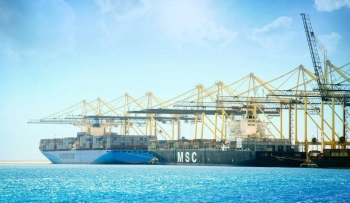 Leading international maritime shipping companies Maersk and MSC have chosen King Abdullah Port as a logistics station on the Red Sea for the two new shipping routes launched by both companies.