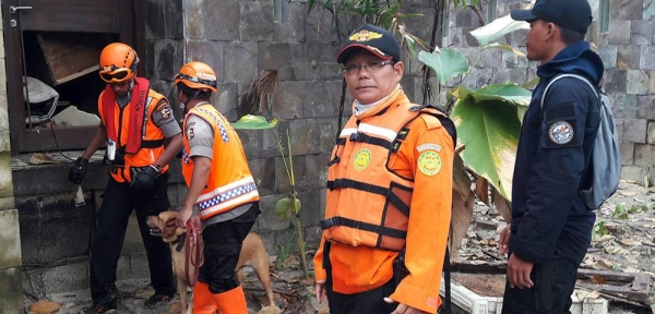 Agus Haryono, International Search and Rescue Advisory Group (INSARAG) member from Basarnas, Indonesia. — courtesy INSARAG