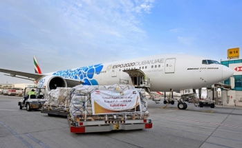 Emirates SkyCargo plans to ramp up its freighter operations to Lebanon by dedicating over 50 flights to deliver much-needed airlift to the country. — WAM photo