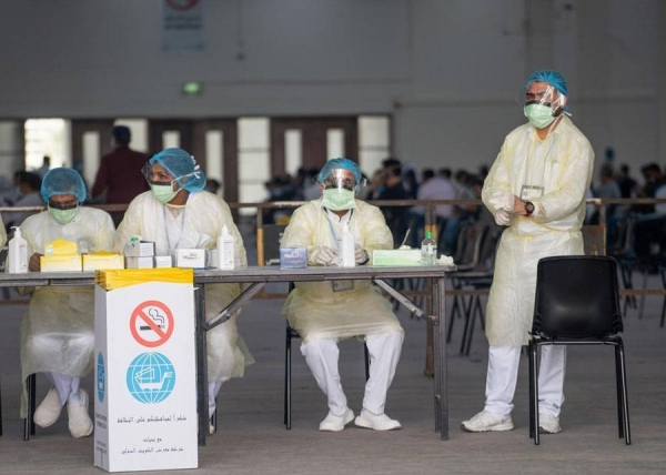Kuwait on Friday registered 699 new coronavirus cases over the past 24 hours, taking the total number of infections in the country to 75,185. — Courtesy photo