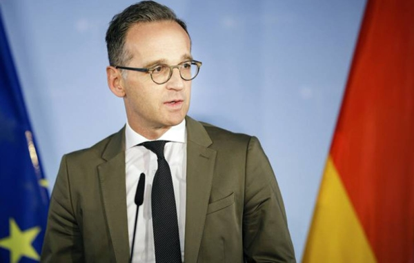 German Foreign Minister Heiko Maas has welcomed the treaty to establish