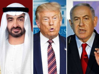 The world media hailed the historic statement by the United States, the United Arab Emirates and Israel on suspending Israeli annexation of Palestinian territories as a positive step on the road to a just and lasting peace in the Middle East. — Courtesy photo