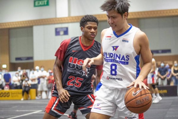 Philippines beat USA for men's basketball title.