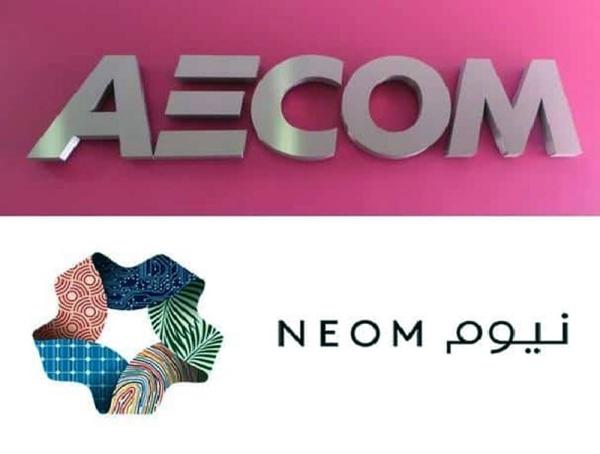 NEOM-AECOM logos