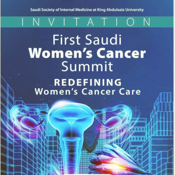 The Saudi Society for Internal Medicine (SSIM) at King Abdulaziz University and the Saudi Oncology Society (SOS), in cooperation with AstraZeneca, organized the first virtual Saudi Women's Cancer Summit earlier this week.