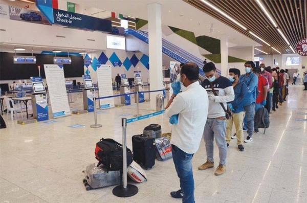 Authorities in Kuwait are coordinating efforts to facilitate the return of a group of expatriates stranded in countries from which travel to the Gulf state is banned. — Courtesy photo