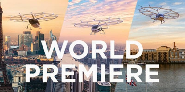 Volocopter opens reservations for electrical urban air taxi flights. — courtesy Volocopter