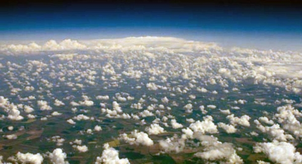 Found high up in the atmosphere, the ozone layer shields Earth from Sun's harmful UV-B rays. — courtesy photo: UNEP