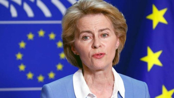 European Commission President Von der Leyen.