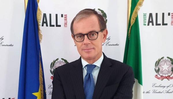 Nicola Lener, Italian Ambassador to the UAE.