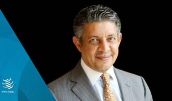 Saudi Arabia's nominee for the post of World Trade Organization's director-general, Mohammad Al-Tuwaijri.