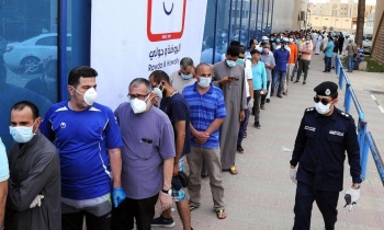 Kuwait on Thursday registered 825 new coronavirus cases over the past 24 hours, taking the total number of confirmed infections in the country to 97,824. — Kuwait News Agency