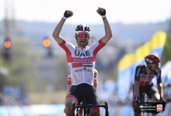 Diego Ulissi put down a strong marker Friday on stage 4 of the Skoda Tour of Luxembourg, the veteran claiming the stage win in a reduced group sprint between four riders.