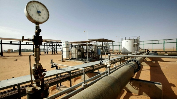 A general view of Libya's El-Sharara oilfield. — File photo
