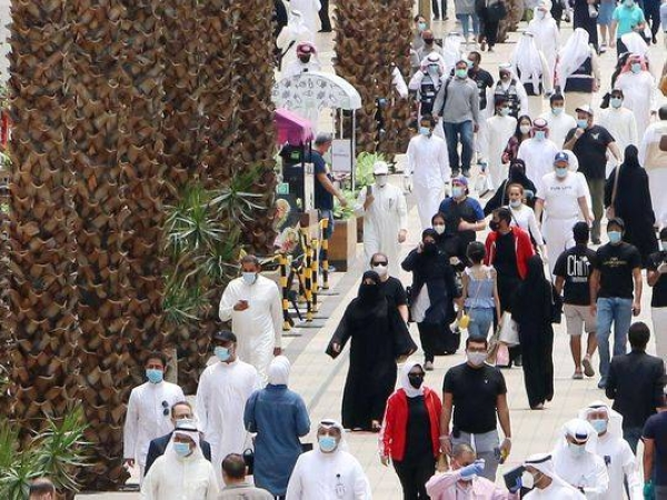 Kuwait COVID-19 cases near 100,000