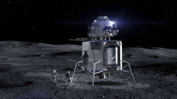 As part of a program called Artemis, NASA will send a man and a woman to the lunar surface in the first landing with humans since 1972. — Courtesy photo