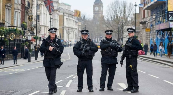The officer was killed by a man who had already been arrested and was being detained at a custody center in Croydon, a neighborhood in south London, police said. — Courtesy photo