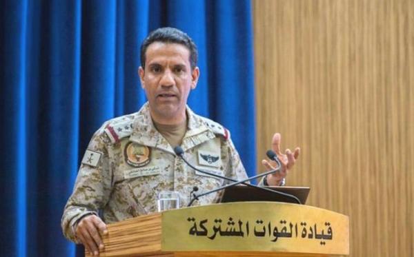 Col. Turki Al-Maliki, official spokesman for the Coalition to Restore Legitimacy in Yemen.
