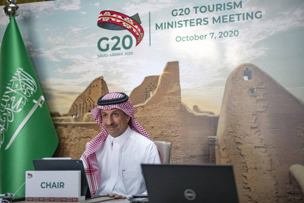 Chaired by Minister for Tourism Ahmed Al Khateeb the event made history with G20 Tourism Ministers listening for the first time directly to CEOs representing major international markets.