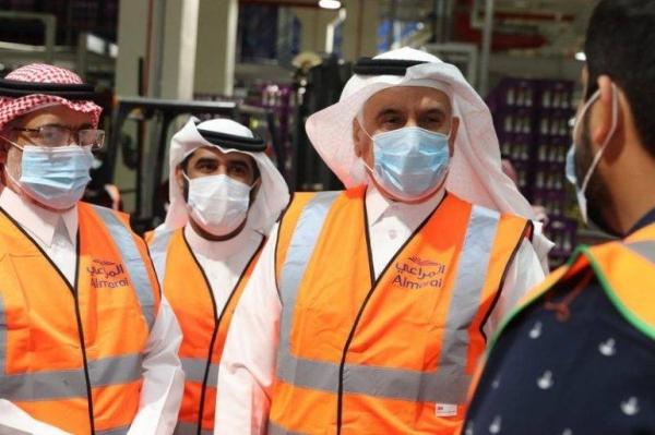Saudi Arabia's Minister of Environment, Water, and Agriculture, Abdulrahman Al-Fadhli.