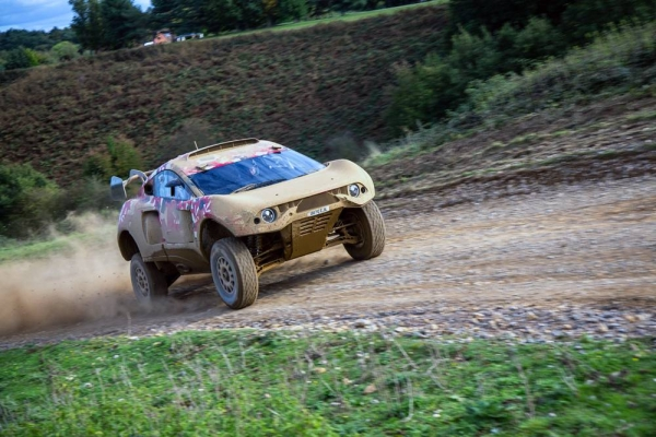 Bahrain Raid Xtreme (BRX) has completed its first major stage of testing at Millbrook, England.