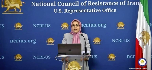 Alireza Jafarzadeh, deputy director of the NCRI-US Representative Office, exposes a new nuclear site in Iran that is involved in the regime's weaponization program at a press conference in Washington.