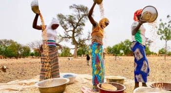 In Burkina Faso, the number of people facing a critical lack of food has increased. — courtesy UNOCHA/Giles Clarke