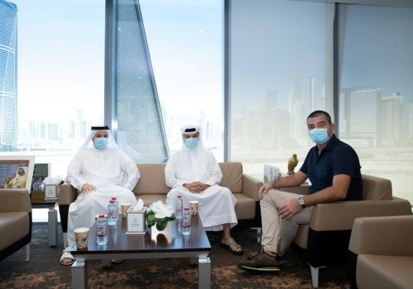 Zoran Lakovic, director of national associations at Union of European Football Associations (UEFA), visited the Dubai Sports Council (DSC) to discuss mutual cooperation and ways to enhance efforts to develop football in the country and region. — WAM photo