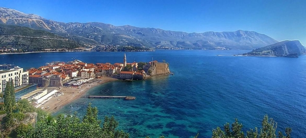 The Mediterranean coast of Montenegro is becoming an ever more popular tourist destination. — Courtesy photo