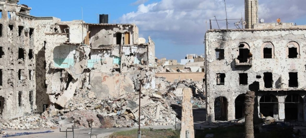 Old city center destroyed by bombs and fightings is seen in Benghazi, Libya, in this Nov. 29, 2017 file picture. — Courtesy photos